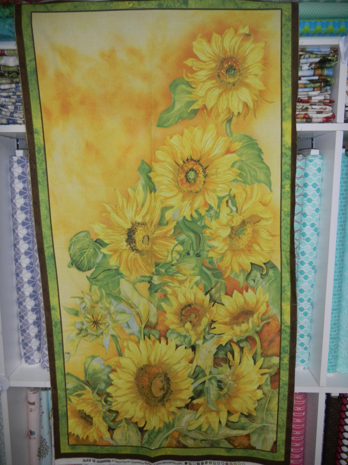 Panel#147 - Slice of Sunshine - Floral