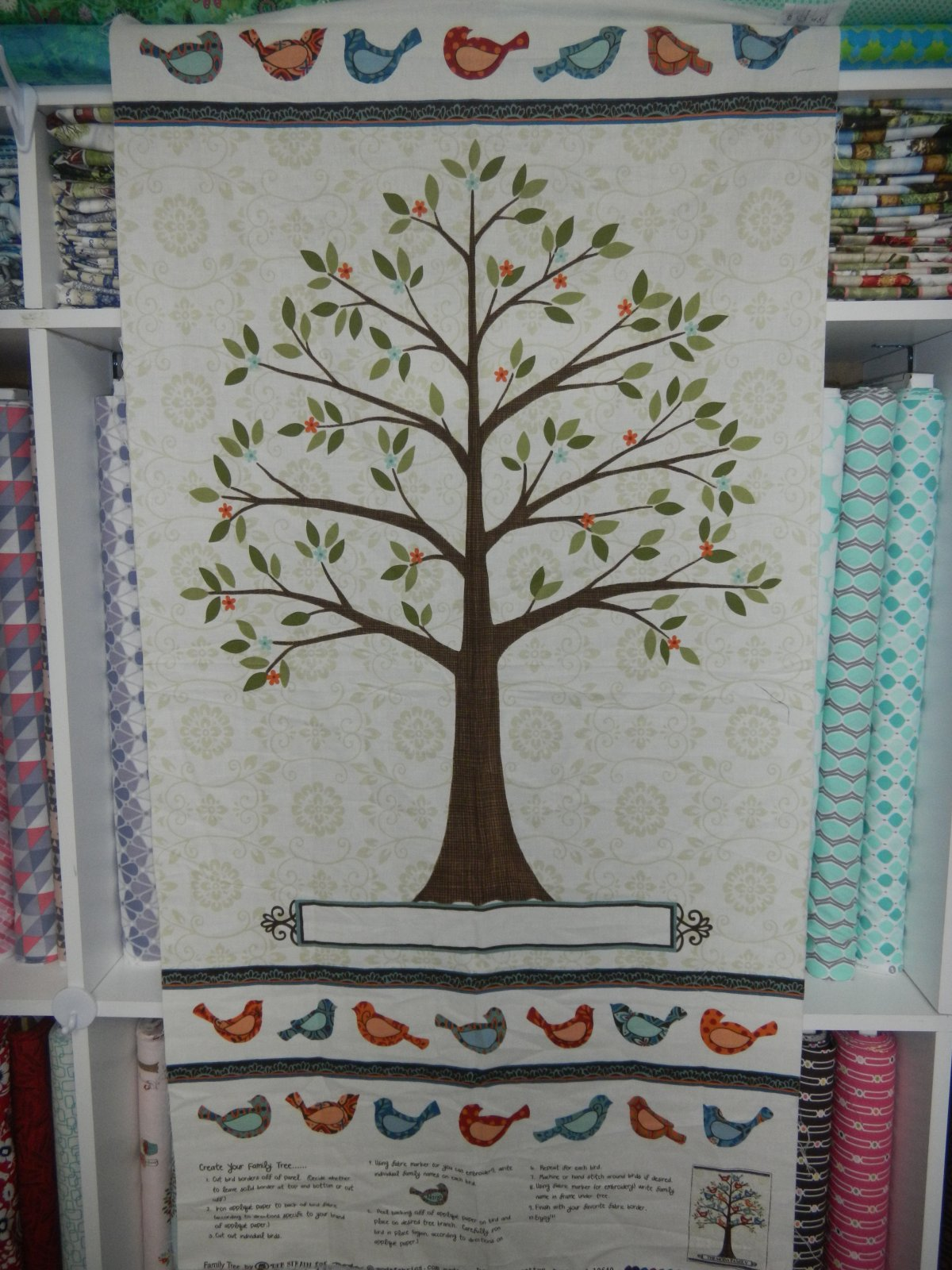 Panel#152 - Family Tree - Floral
