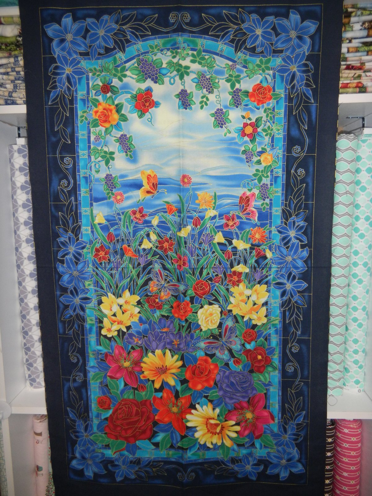 Panel#137 - Tiffany - Floral