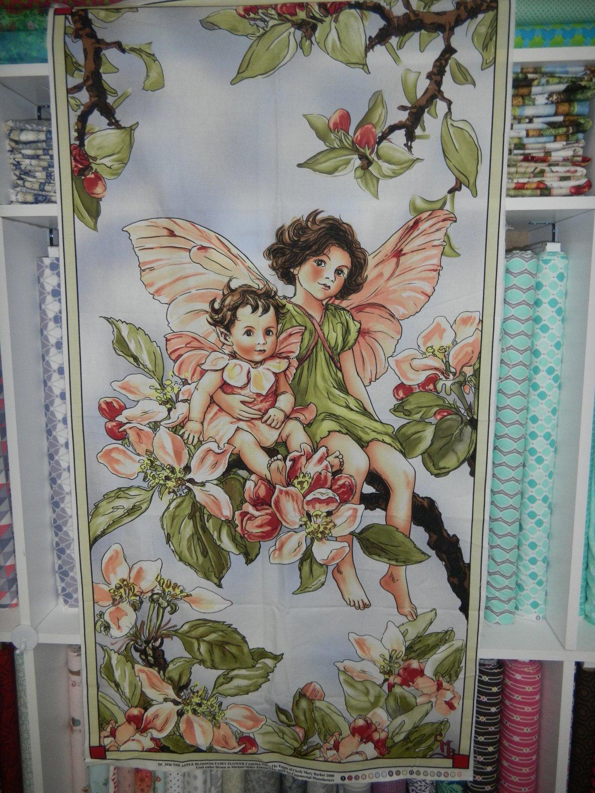Panel#139 - Apple Blossom Fairy - Floral/Fairy