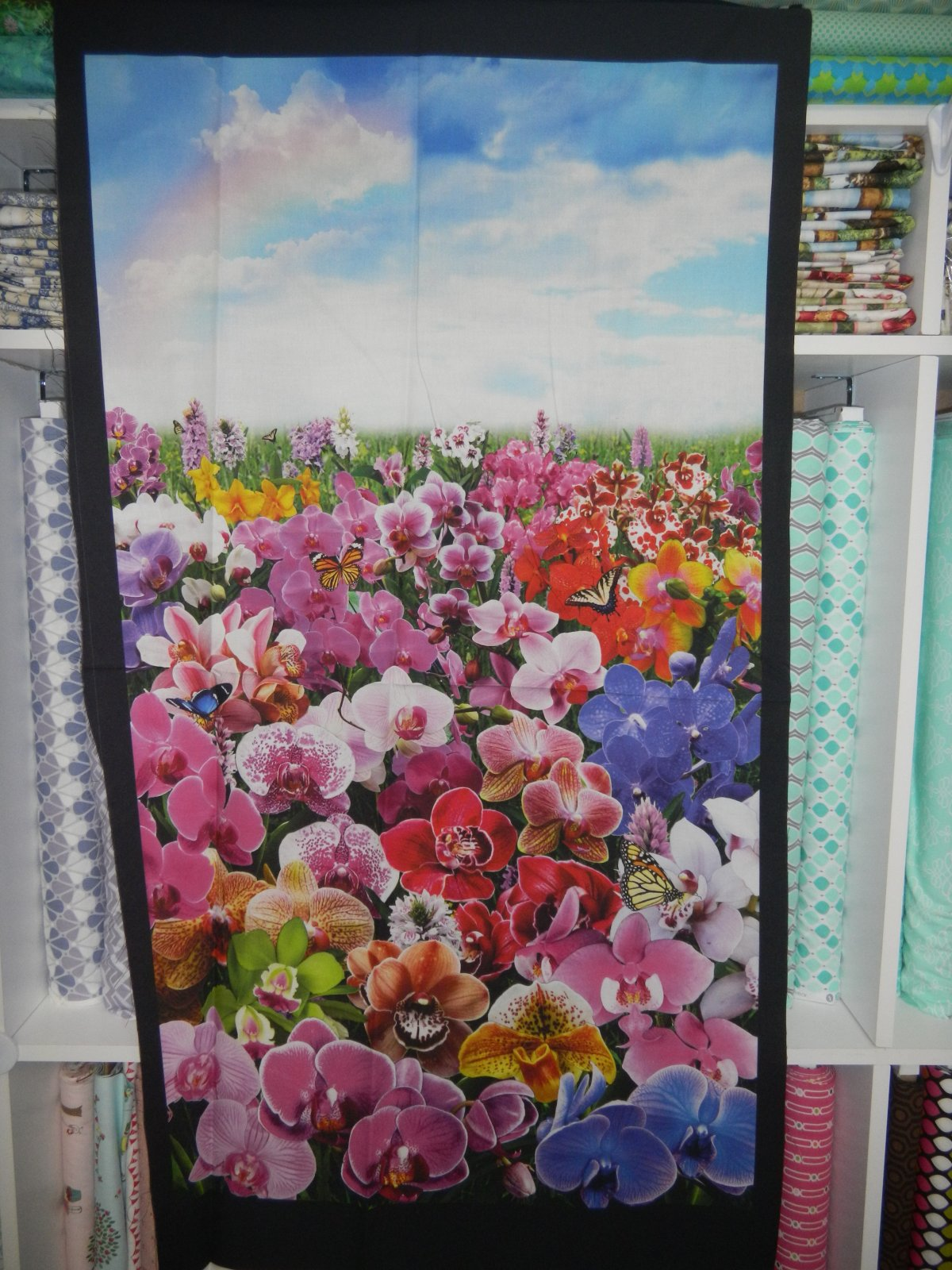 Panel#153 - Flower Meadow - Floral