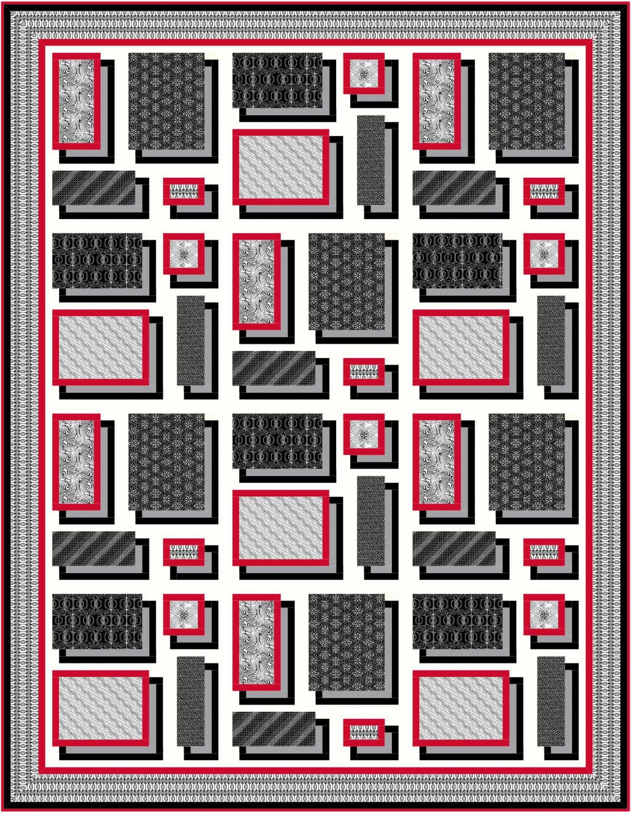 floating frames quilt pattern downloadable