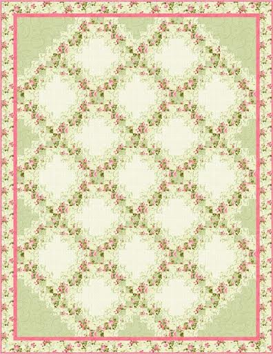 Pie Crust quilt pattern - downloadable