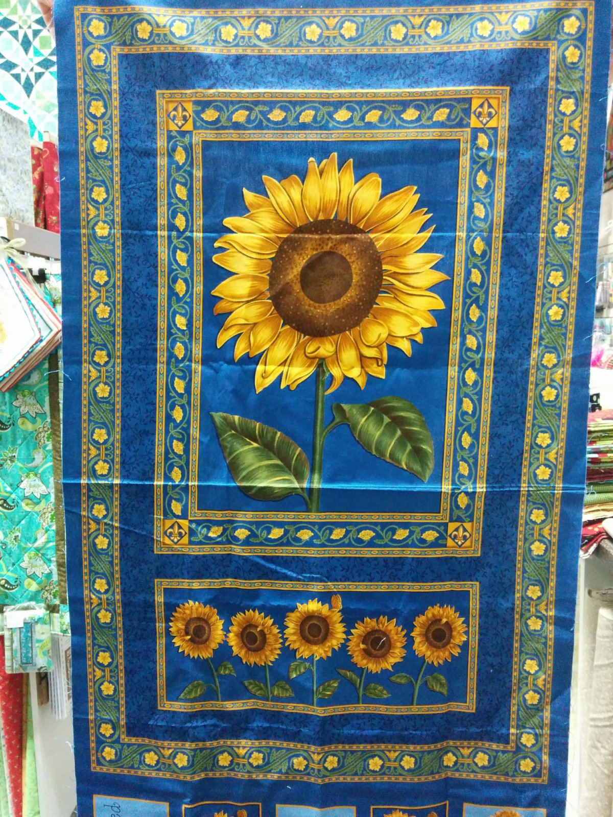 Panel#138 - Sunflowers Provence - Floral