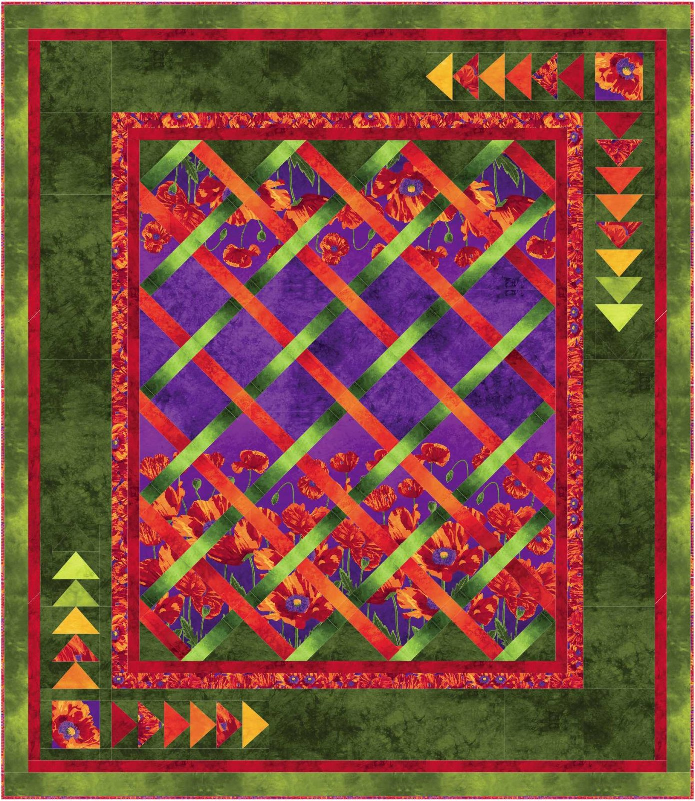 In Remembrance quilt pattern - downloadable