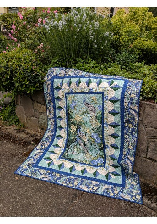 Through the Looking Glass quilt pattern