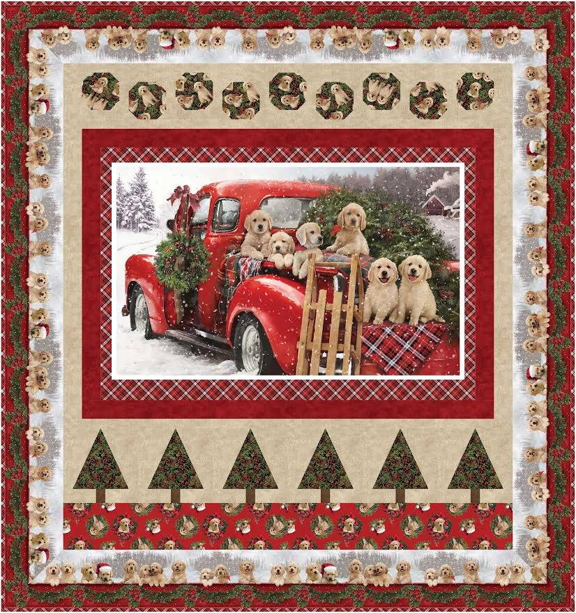 Memory Lane quilt pattern - downloadable
