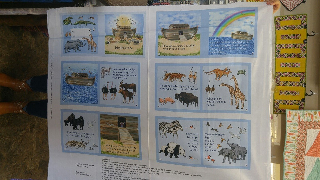 Panel#280 - Noah's Ark book  - book panel