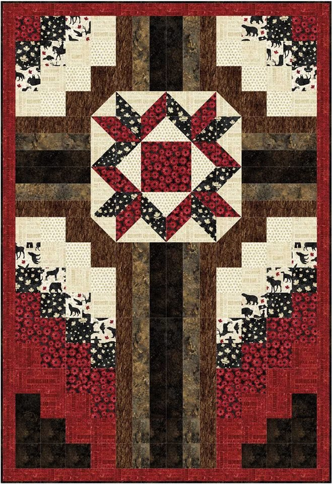 The Old Rugged Cross - Throw quilt kit