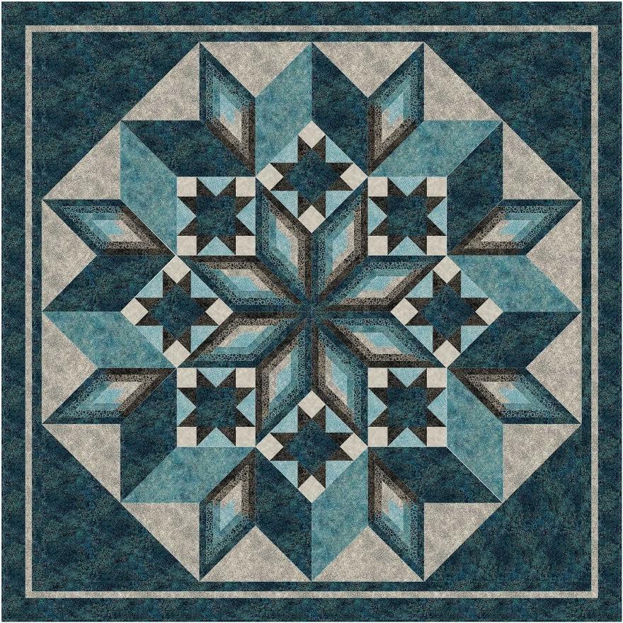 Ferris Wheel quilt pattern - downloadable