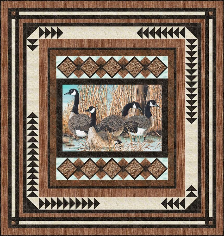 Picture This (Canada Goose) quilt pattern