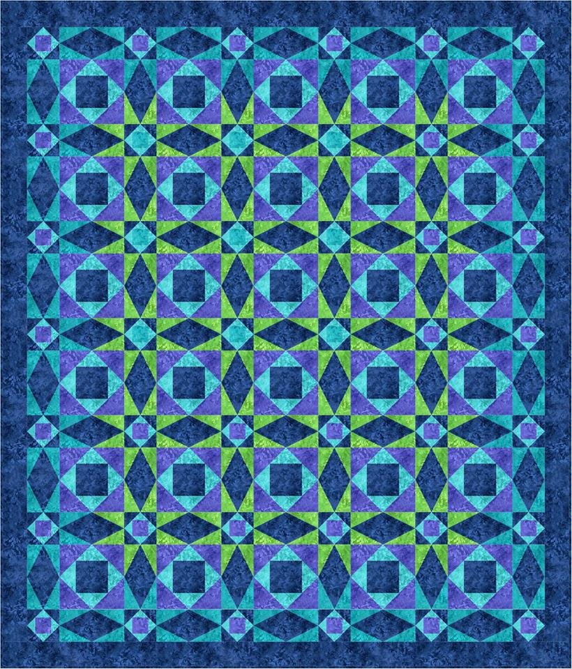 Waverly quilt pattern -downloadable