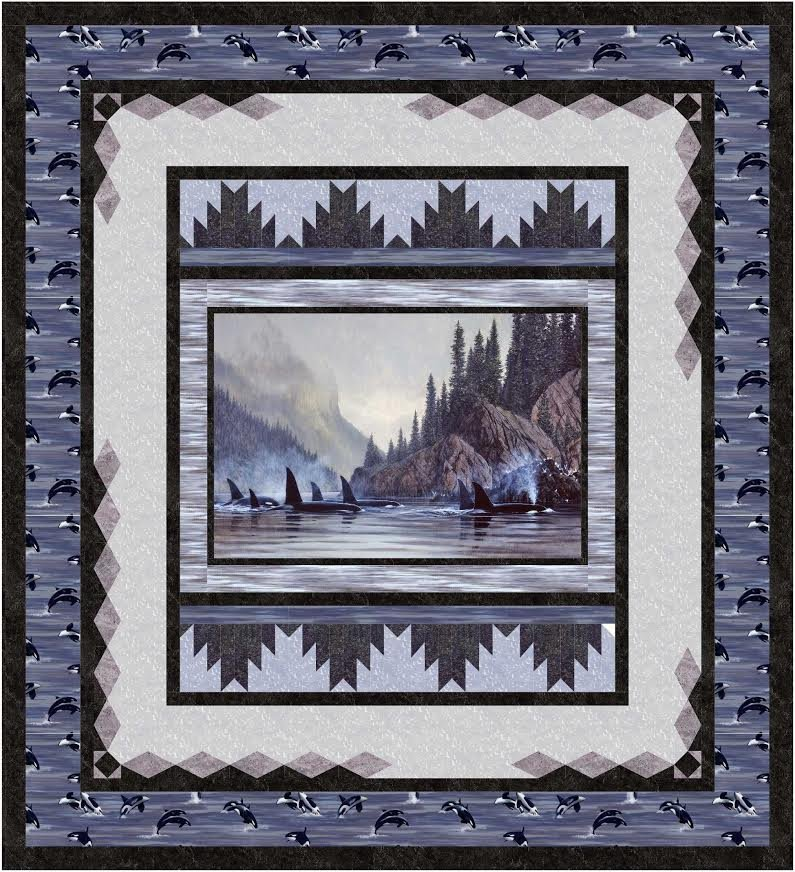 Reflections quilt pattern - downloadable