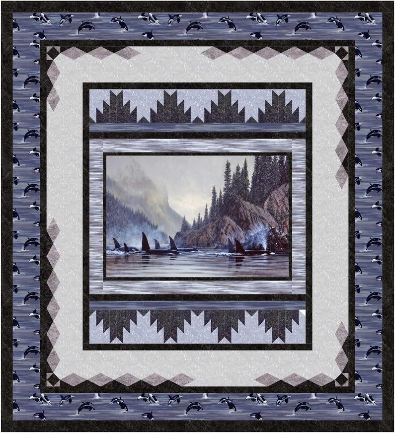 Reflections - Queen Quilt kit