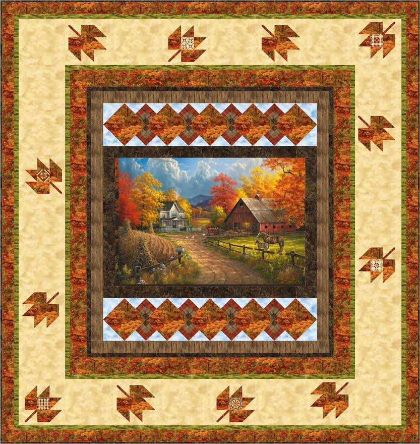 Picture This Country quilt pattern - downloadable