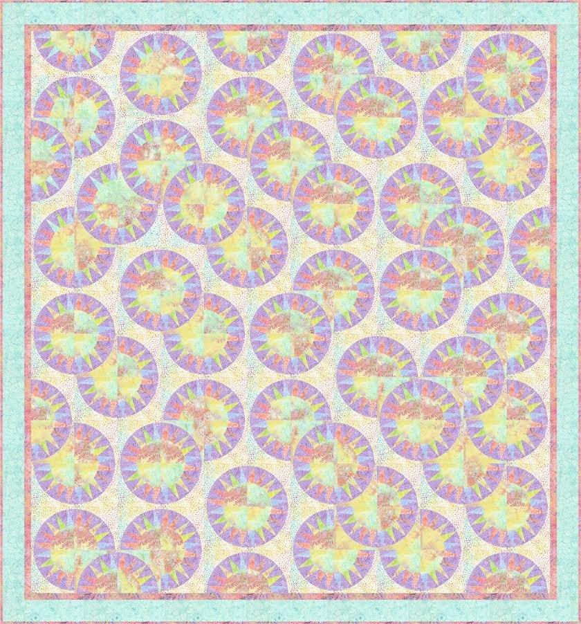 Urban Hip Hop quilt pattern - downloadable