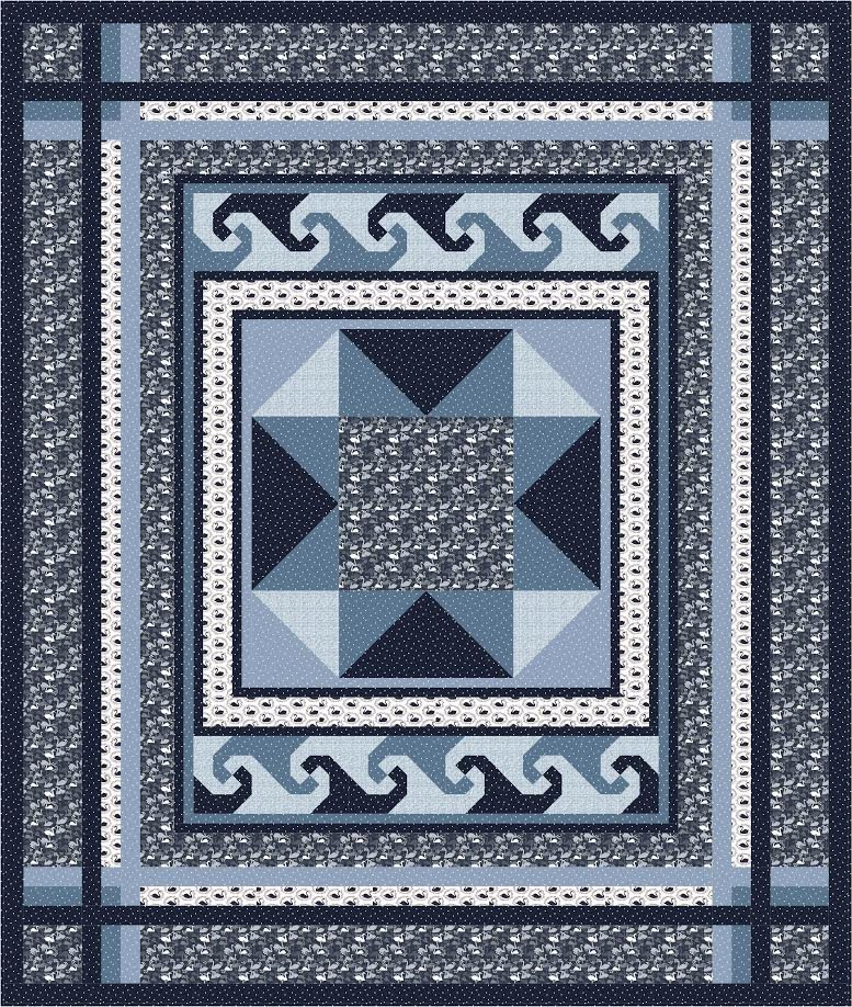 Castle Cross quilt pattern