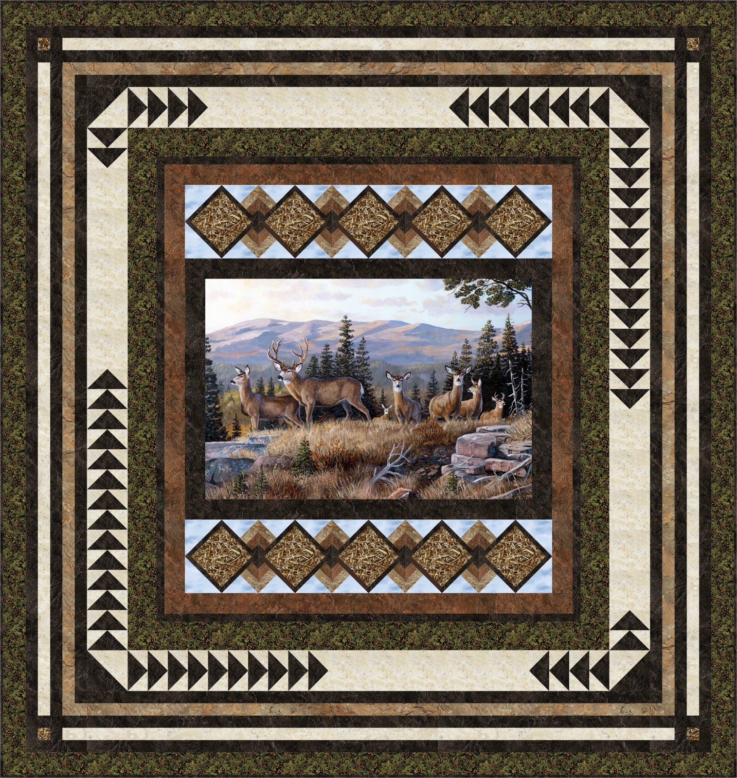 Picture This (High Ridge) quilt pattern - downloadable