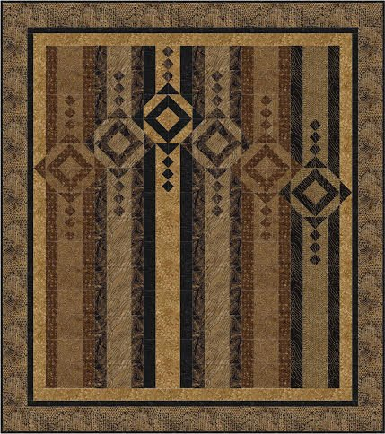 Wind Chimes quilt pattern
