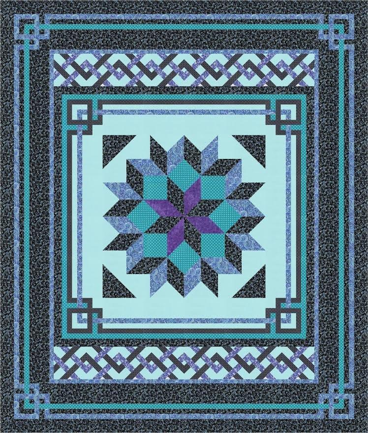 Carpenter's Square quilt pattern - downloadable