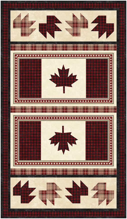 Maple Syrup Runner/Placemat pattern - downloadable