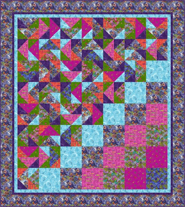 What the Hay quilt pattern - downloadable