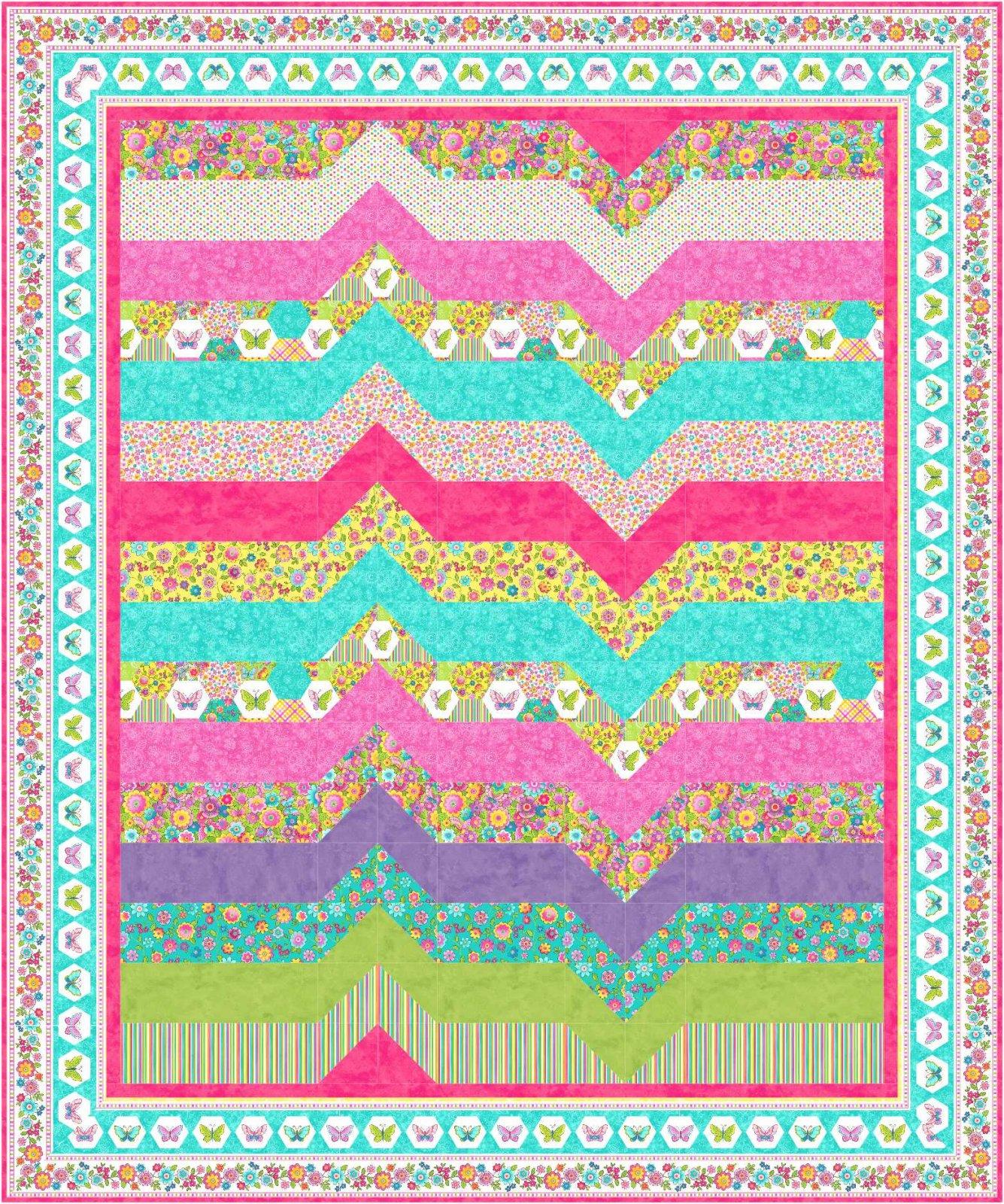 Heart Throb quilt pattern - downloadable