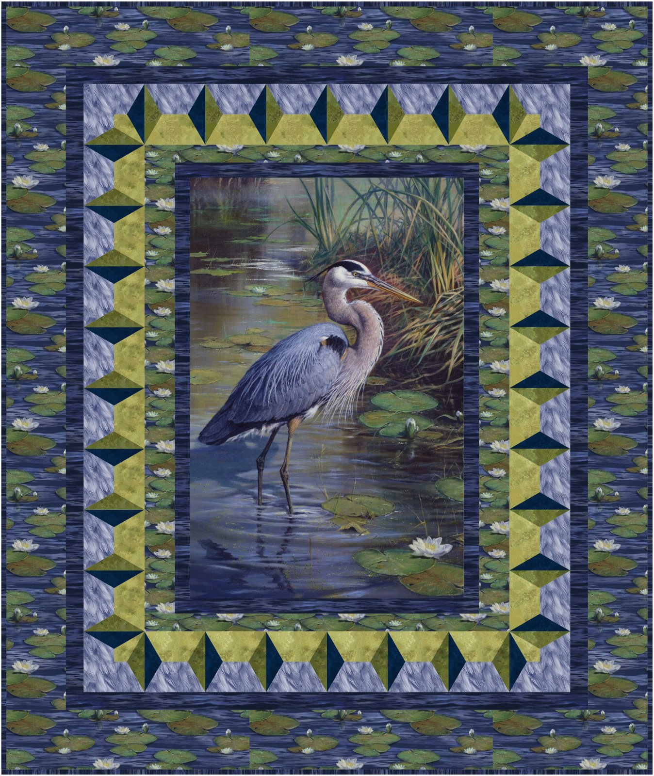 Through the Looking Glass quilt pattern - downloadable
