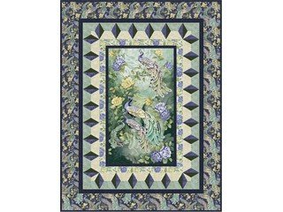Through The Looking Glass quilt kit - Throw size