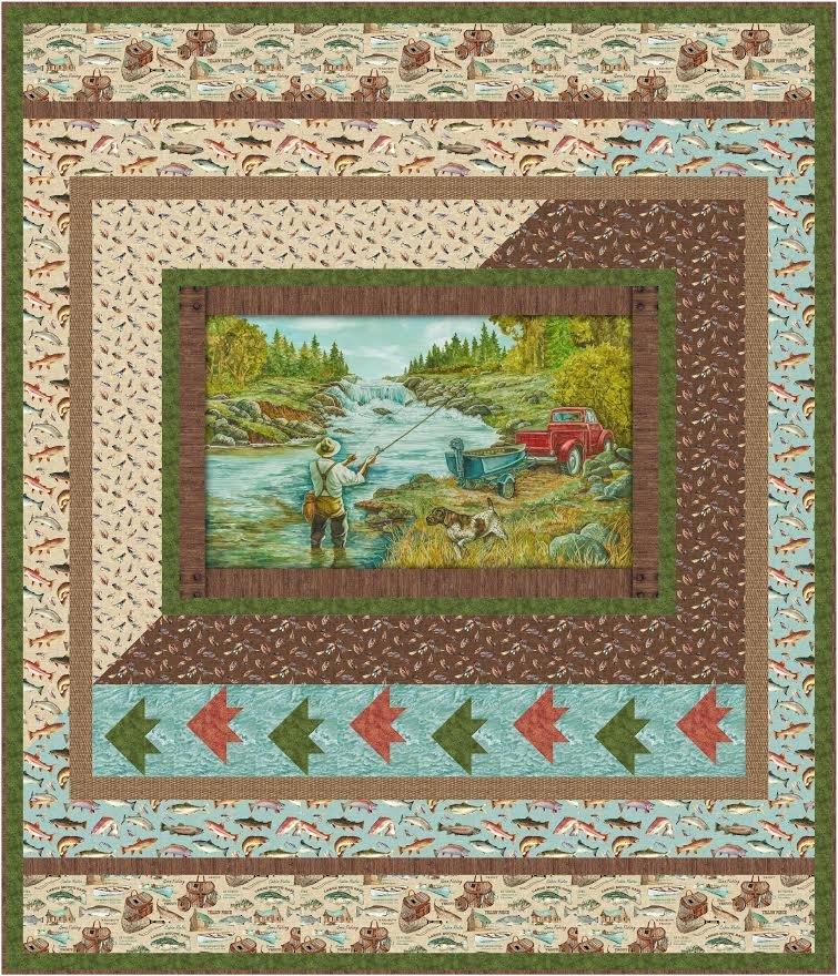 Go Fish quilt pattern - downloadable
