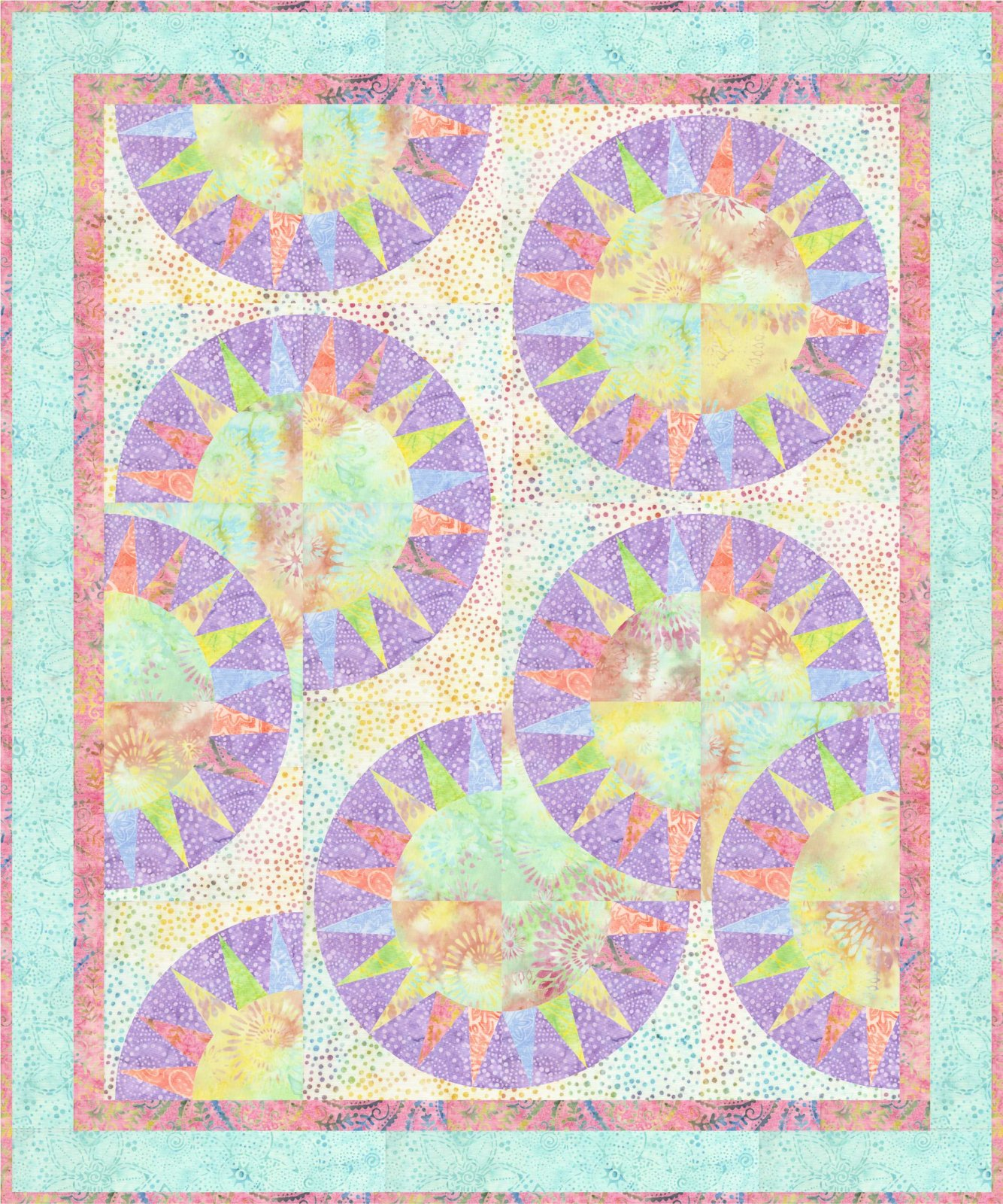 Urban Hip Hop quilt pattern - multi size