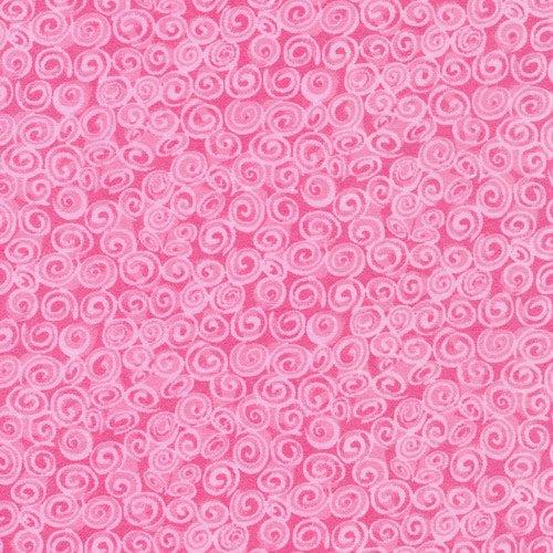 CUDDLE PRINTS FLANNEL PINK SWIRLS 1083701