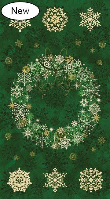 Stonehenge Starry Night 2 Christmas Wreath 20341M 79