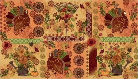 FALL FESTIVAL Cream Placemats 4260 44