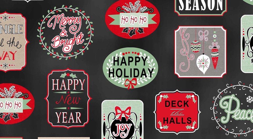 Christmas Wishes 8170 099 Black
