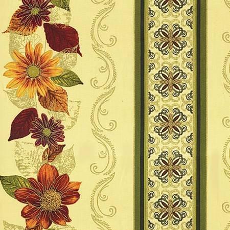 Autumn Splendor 8413M 07 Garland Cream w/Metallic