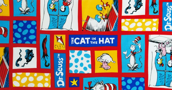 The Cat In The Hat - Brite Flannel ADEF11943195