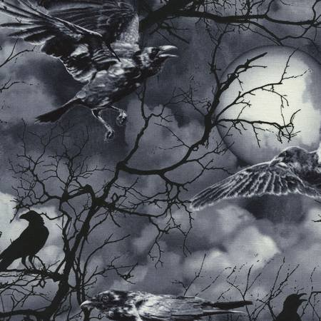Black Crows & Moon C3762