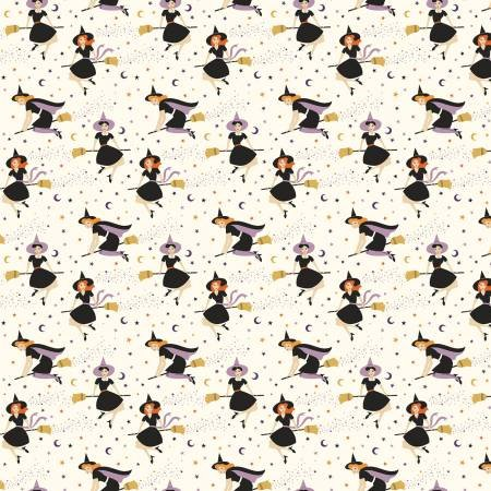 Fab-boo-lous Witches 8171 Cream