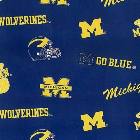 Blue University of Michigan MCHG 045
