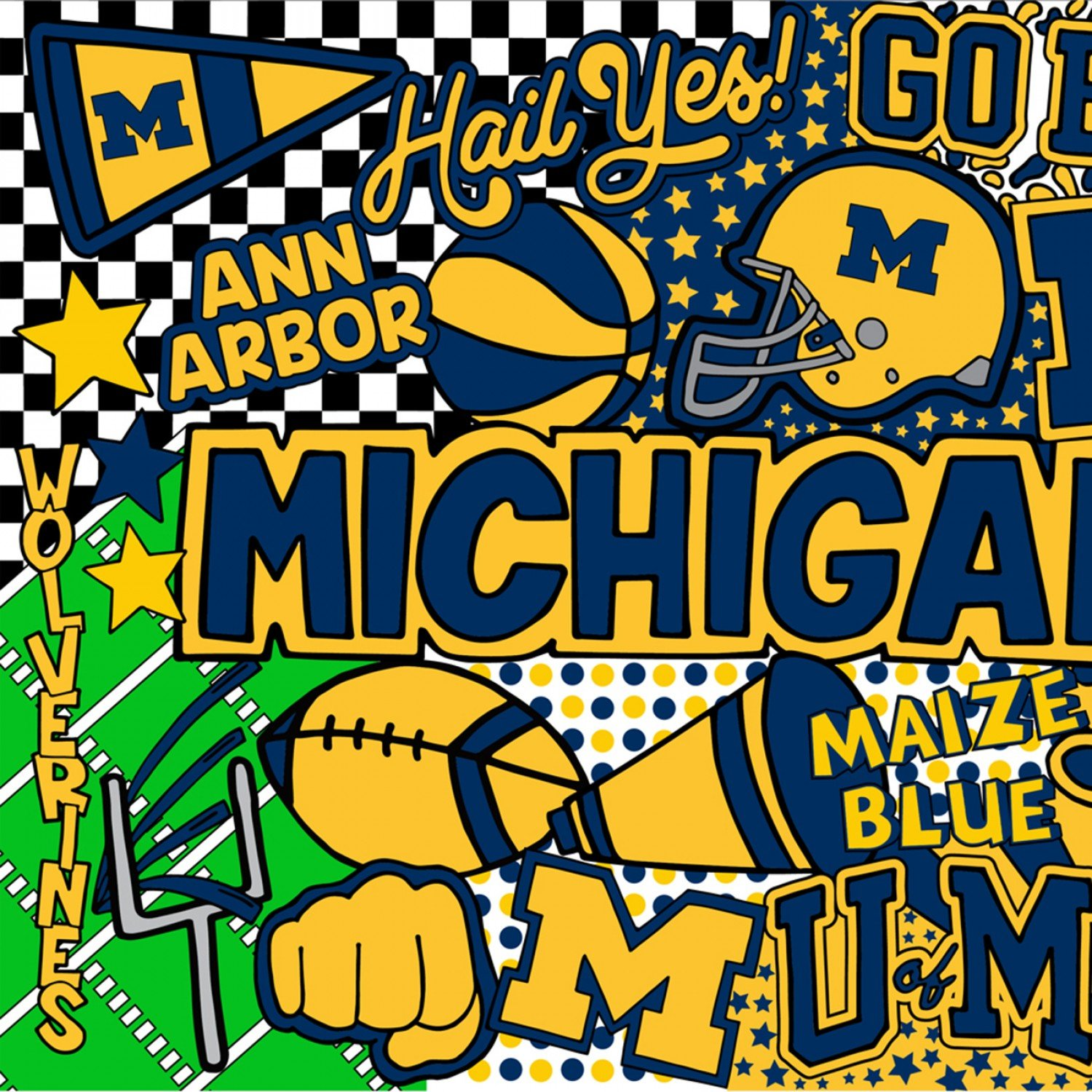 MICHIGAN WOLVERINES MCHG 1165