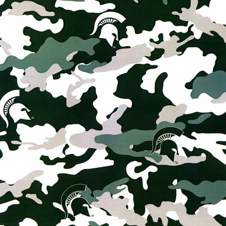 Michigan State Camouflage Print mist 805