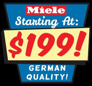 Miele Starting at 199.00