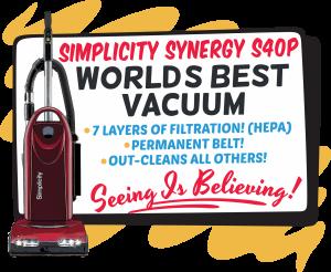 Simplicity Worlds Best Vacuum