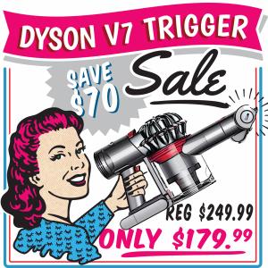 Dyson Trigger 70 off