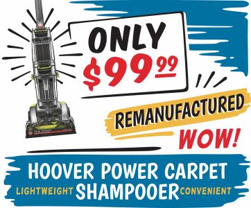 Hoover Shampooer Sale