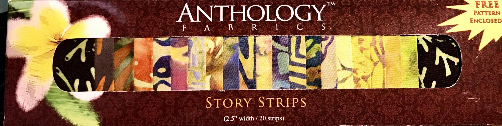 Anthology Fabric Strips -1