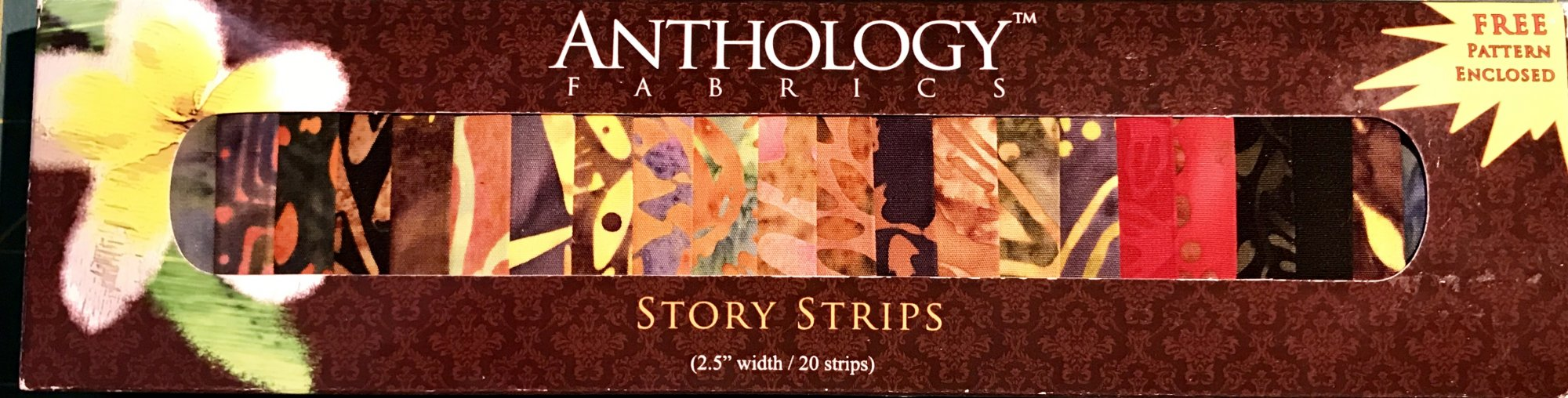 Anthology Fabric Strips - 3