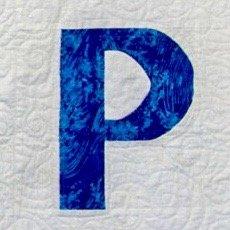 Single Alphabet Soup Card - P