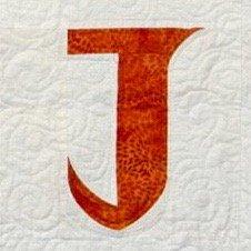 Single Alphabet Soup Card - J